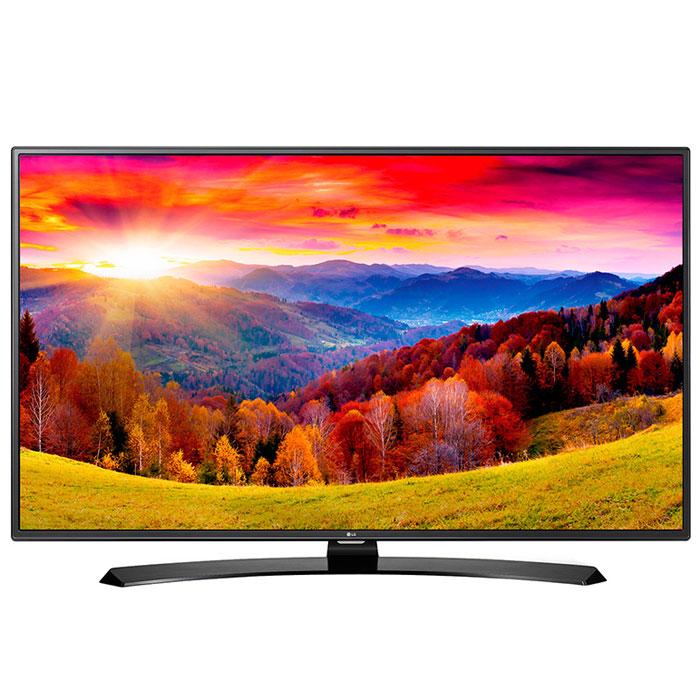 LG 43LH604V телевизор43LH604VМеталлический дизайнОцените обновлённый дизайн корпуса телевизора LG 43LH604V с металлическими элементами.Triple XD процессорНовый графический процессор отвечает за качество цветопередачи, уровень контрастности и чёткость изображения.webOS 3.0Обновлённая операционная система LG SMART TV на базе webOS 3.0 создана для того, чтобы доступ к фильмам, сериалам, музыке и интернет-порталам через телевизор был простым и удобным.Picture Wizard IIIСистема точной настройки Picture Wizard III позволяет вам быстро отрегулировать глубину чёрного, цветовую гамму, чёткость изображения и уровень яркости.Virtual Surround PlusИспытайте эффект объёмного звучания с алгоритмом кинотеатрального распределения звуковой волны.Clear Voice IIIАвтоматическая система подавления шумов и усиления звучания голоса в телевизоре LG 43LH604V направлена на отделение основных звуков от фона, что помогает чётко слышать речь актёров и телеведущих.