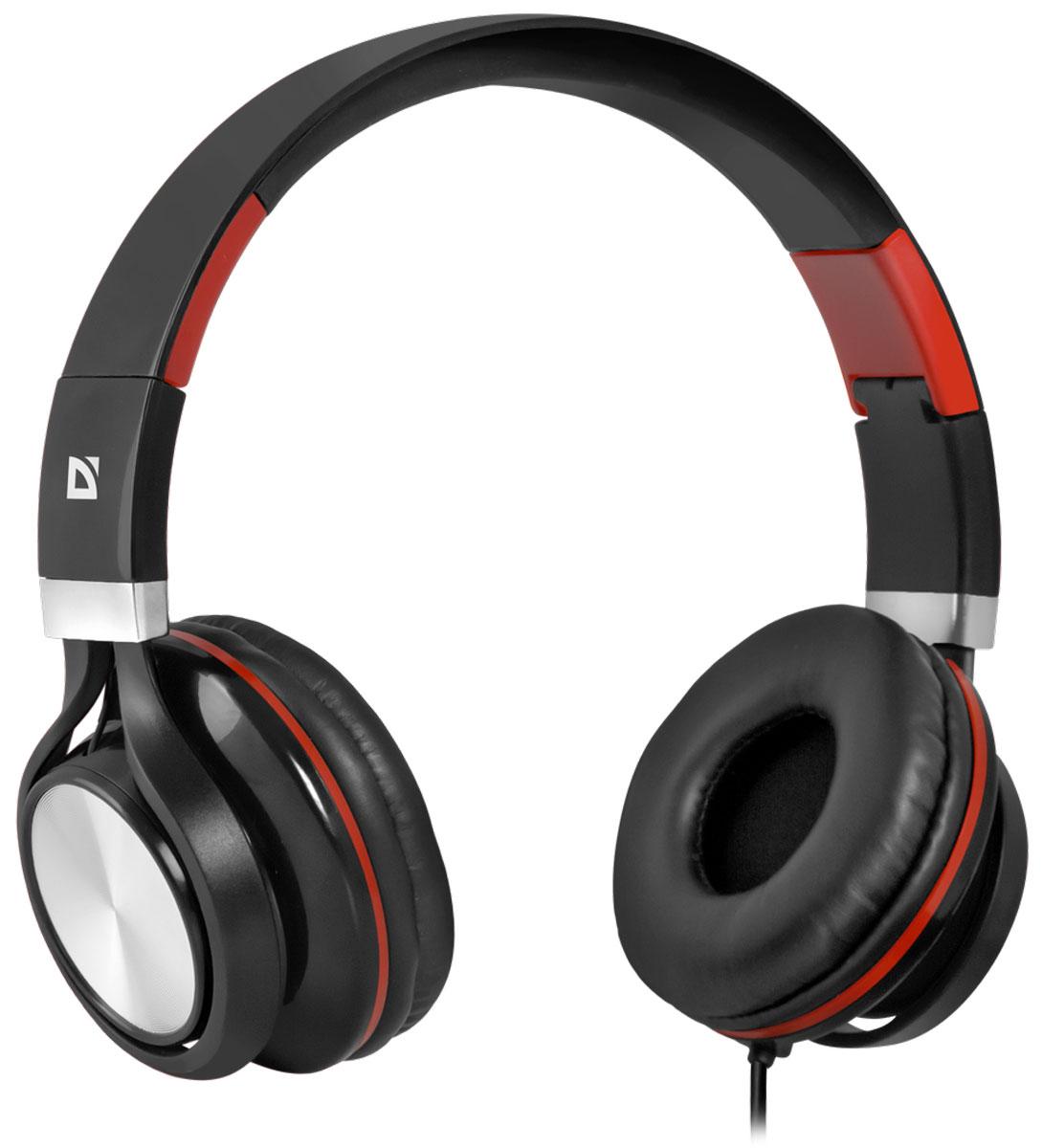Defender Accord 175, Black Red гарнитура63175Гарнитура Defender Accord 175 предназначена для смартфонов, планшетных компьютеров, ноутбуков нового поколения, использующих комбинированный четырехпиновый разъем для наушников и микрофона. Микрофон и кнопка ответа на вызов находятся на кабеле. Комфортные амбушюры. Благодаря хорошей звукоизоляции слушайте любимую музыку и аудиокниги в дороге - ничто не будет вам мешать. С помощью адаптера для ПК, входящего в комплект, гарнитуру можно подключить к устаревшим ноутбукам и компьютерам с двумя отдельными разъемами для наушников и микрофона. Импеданс микрофона: 2.2 кОм Чувствительность микрофона: 58 дБ Частотный диапазон микрофона: 20-16000 Гц