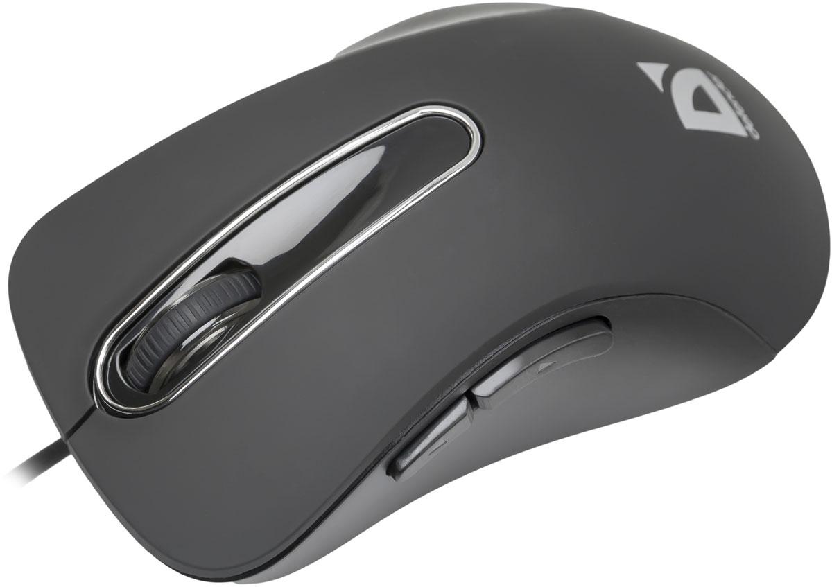 Defender Datum MM-070, Black проводная оптическая мышь