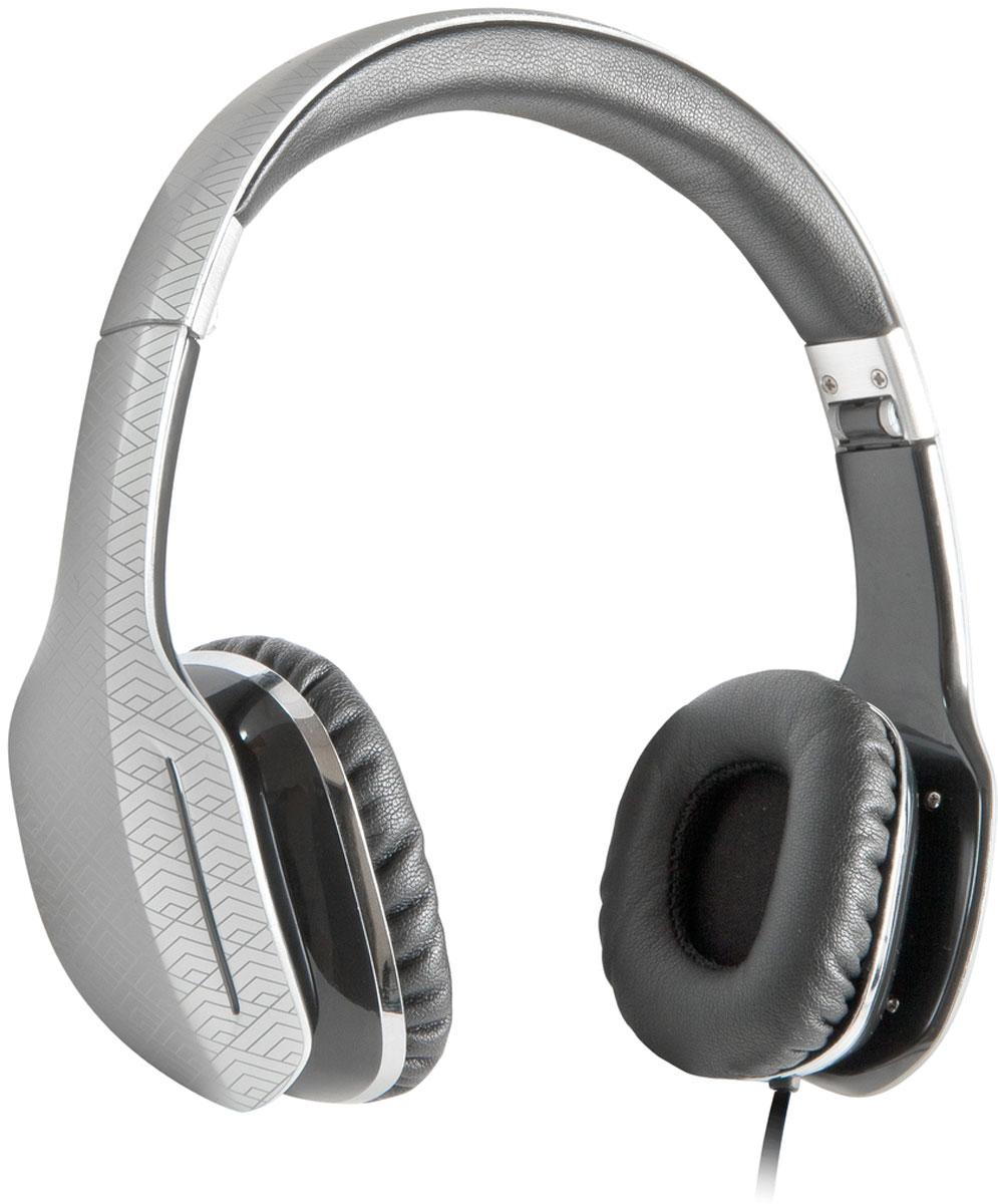 Defender Eagle 874, Silver накладные наушники63873Наушники Defender Eagle 874 обеспечивают кристально чистый звук. Прослушивание музыки доставит истинное удовольствие как ценителям классики, так и поклонникам рока. Наушники не искажают звучание даже самых сложных аудиокомпозиций! Eagle 874 можно легко сложить, а специальный чехол для хранения и перевозки (в комплекте) позволит взять их с собой в любую поездку. Плоский кабель-удлинитель, входящий в комплект, позволяет удобно прослушивать музыку и в помещении.