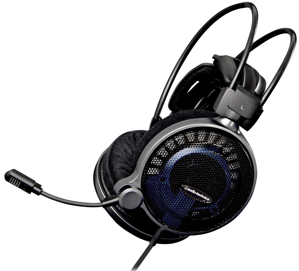 Audio-Technica ATH-ADG1X игровые наушники15118480Применив свой более чем 40-летний опыт разработок в области звуковых технологий, Audio-Technica создала открытую Hi-Fi-гарнитуру АТН-ADG1X, которая предоставляет геймеру звук высокого разрешения максимальной точности. Инновационные драйверы диаметром 53 мм обеспечивают непревзойдённое качество звука, необходимое для полного погружения в виртуальную реальность. Устройство оснащено первоклассным микрофоном для голосовой коммуникации в ходе игры, кабелем длиной 1,2 м и двухметровым удлинителем. Гарнитура АТН-ADG1X совместима с платформами PC, Mac, PS4, iPad/iPhone, а также с Xbox One (при использовании специального адаптера). Большие драйверы диаметром 53 мм обеспечивают премиальное Hi-Fi-звучание Саморегулирующееся 3D-крепление для комфортного ношения в течение длительного времени Микрофон обеспечивает кристально чистый звук в ходе игровых переговоров Мягкие амбушюры наивысшего качества В комплекте 2-метровый удлинитель (2x3,5 мм) и...