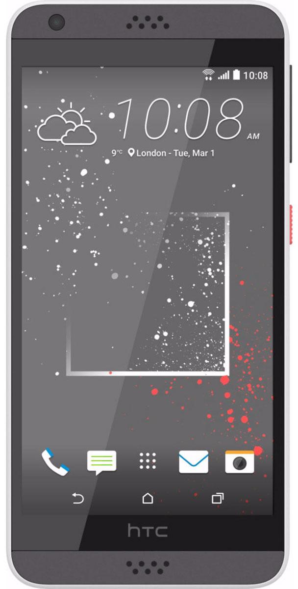 HTC Desire 530, Stratus White99HAHW066-00Где бы ты не находился, смартфон HTC Desire 530 станет твоим надежным помощником. Его технические возможности позволят забыть о компромиссах (обрати внимание на отличные фронтальную и основную камеры), а корпус, выполненный из материала soft-touch, и крепление для ремешка на руку сделают использование смартфона чрезвычайно удобным. Выпускные балы, решающие голы, яркие эмоции на аттракционах - нередко бывает тяжело поймать тот самый незабываемый кадр. С HTC Desire 530 снимать легко и просто: все технические задачи решены, и тебе остается просто нажать кнопку спуска затвора. Основная камера 8 Мпикс с автофокусом позволяет делать четкие снимки. С фронтальной камерой 5Мпикс тебе будет доступна съемка в режимах Автоселфи и Голосовое селфи, а все твои работы будут сохраняться в отдельный альбом Автопортреты. Добавь креативности своим селфи! HTC Desire 530 оснащен высококачественным усилителем, который позволяет добиться максимальной мощности ...
