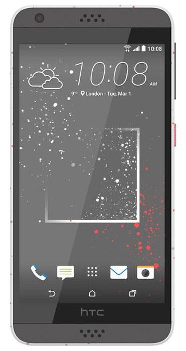 HTC Desire 630 DS, Sprinkle White99HAJM008-00Представляем HTC Desire 630 dual sim. Смартфон, который заметят окружающие: эффектные цветовые решения корпуса, внушительные аудио характеристики и отличные фронтальная и основная камеры. Корпус устройства, выполненный из материала soft-touch, ребристая кнопка включения, крепление для ремешка на руку делают изделие исключительно удобным в использовании. Наличие двух SIM-карт позволит разделить рабочие и личные звонки. Выпускные балы, решающие голы, яркие эмоции на аттракционах - нередко бывает тяжело поймать тот самый незабываемый кадр. С HTC Desire 630 dual sim снимать легко и просто: все технические задачи решены, и тебе остается просто нажать кнопку спуска. Основная камера 13Мпикс поможет снимать отличные фото и видео. При необходимости фото можно отредактировать во встроенном Фоторедакторе, а также при желании добавить фотоэффекты - например, применить Двойную экспозицию. С HTC Desire 630 dual sim ты не упустишь ни один...