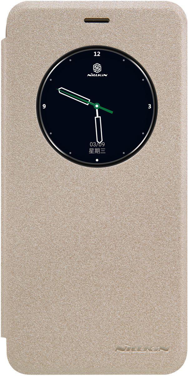 Nillkin Sparkle Leather Case чехол для Meizu Pro 6, Gold874004Y0395Компактный, легкий, стильный чехол-книжка Nillkin Sparkle Leather Case изготовлен из качественной искусственной кожи и прочного пластика. Он обеспечивает амортизацию удара при непредвиденном падении устройства и позволяет пользоваться всеми функциями не вынимая смартфон из чехла. Nillkin Sparkle надежно защитит ваш гаджет от повреждений, пыли, отпечатков пальцев и царапин.