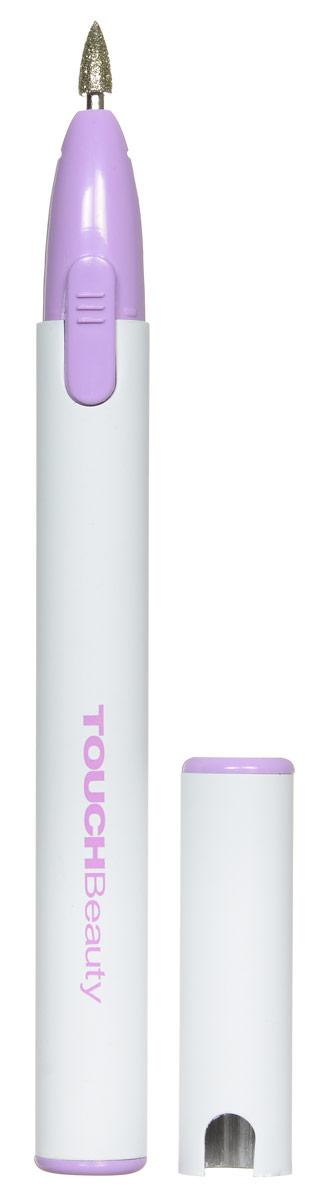 Touchbeauty Маникюрный набор 3в1 Micro Nail Polisher, цвет: белый, сиреневый. AS-0676AS-0676_белый, сиреневыйМаникюрный набор Micro Nail Polisher представляет собой прибор с тремя насадками: Карборундовая насадка - используется для сглаживания краев ногтя Насадка из алунда - обеспечивает сглаживание краев и удаление кутикулы Ворсистая насадка - для финишной полировки поверхности ногтя Стильный миниатюрный дизайн в форме карандаша, алюминиевый корпус, малые размеры и легкий вес - отличный дорожный вариант, который легко помещается в косметичку.
