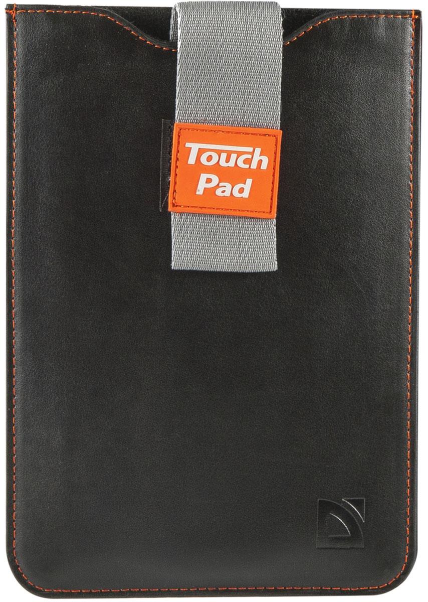Defender Glove uni 7, Black чехол для планшета26048Компактный чехол - конверт Defender Glove uni 7 предназначен для переноски и хранения планшета. Ремешок препятствует выпадению устройства, а потянув за него можно легко извлечь ваш гаджет. Чехол оптимально подходит для транспортировки в сумке большего размера и обеспечивает надежную защиту планшета от повреждений, ударов и царапин.