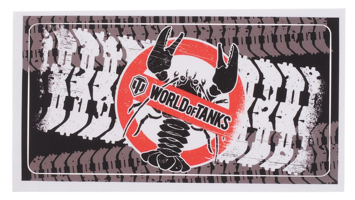 World of Tanks Раки не пройдут наклейка для ноутбука1416Наклейка по мотивам нашумевшей игры World of Tanks придется по душе всем фанатам танковых сетевых баталий.