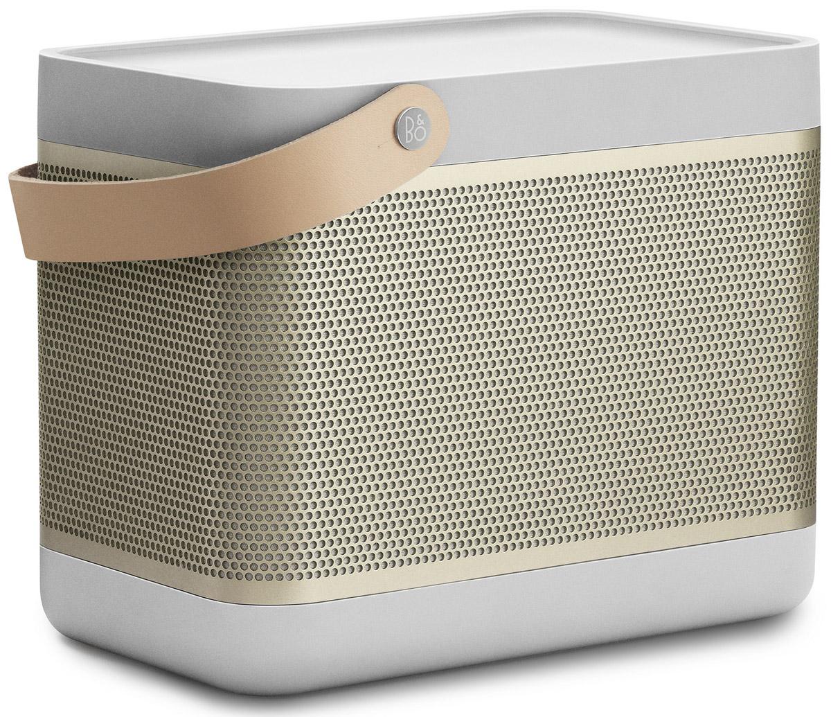 Bang & Olufsen Beolit 15, Champagne портативная акустическая система1287632Bang & Olufsen Beolit 15 - это современная компактная аудиосистема c безупречным дизайном в лучших традициях B&O. Она сочетает в себе максимальную производительность, надежность и функциональность. Инновационная технология передачи звука True360 позволяет использовать её дома в офисе и даже на открытом воздухе, звука будет достаточно благодаря 240 ваттам пиковой мощности. Емкий аккумулятор на 18 Вт/ч позволит слушать музыку на протяжении 24 часов без подзарядки. Быстрое беспроводное подключение Bluetooth 4.0 гарантирует высокое качество передачи потокового аудио. Bang & Olufsen Beolit 15 запоминает до 8 пользователей и может быть подключена к 2-м устройствам одновременно, тем самым на вечеринке вы сможете устроить ди-джей баттл с друзьями. Так же имеется USB-порт, который можно использовать для зарядки мобильных устройств. Мощность усилителей: 2 x 35 Вт Емкость аккумулятора: 2200 мАч