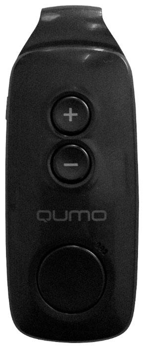 Qumo Fit 4GB, Black MP3-плеер20429Легкий, компактный плеер Qumo Fit с радио и удобной клипсой крепления для активного образа жизни. Плеер имеет объем памяти 4 ГБ. Для подключения зарядки и синхронизации с компьютером предусмотрен вход microUSB.