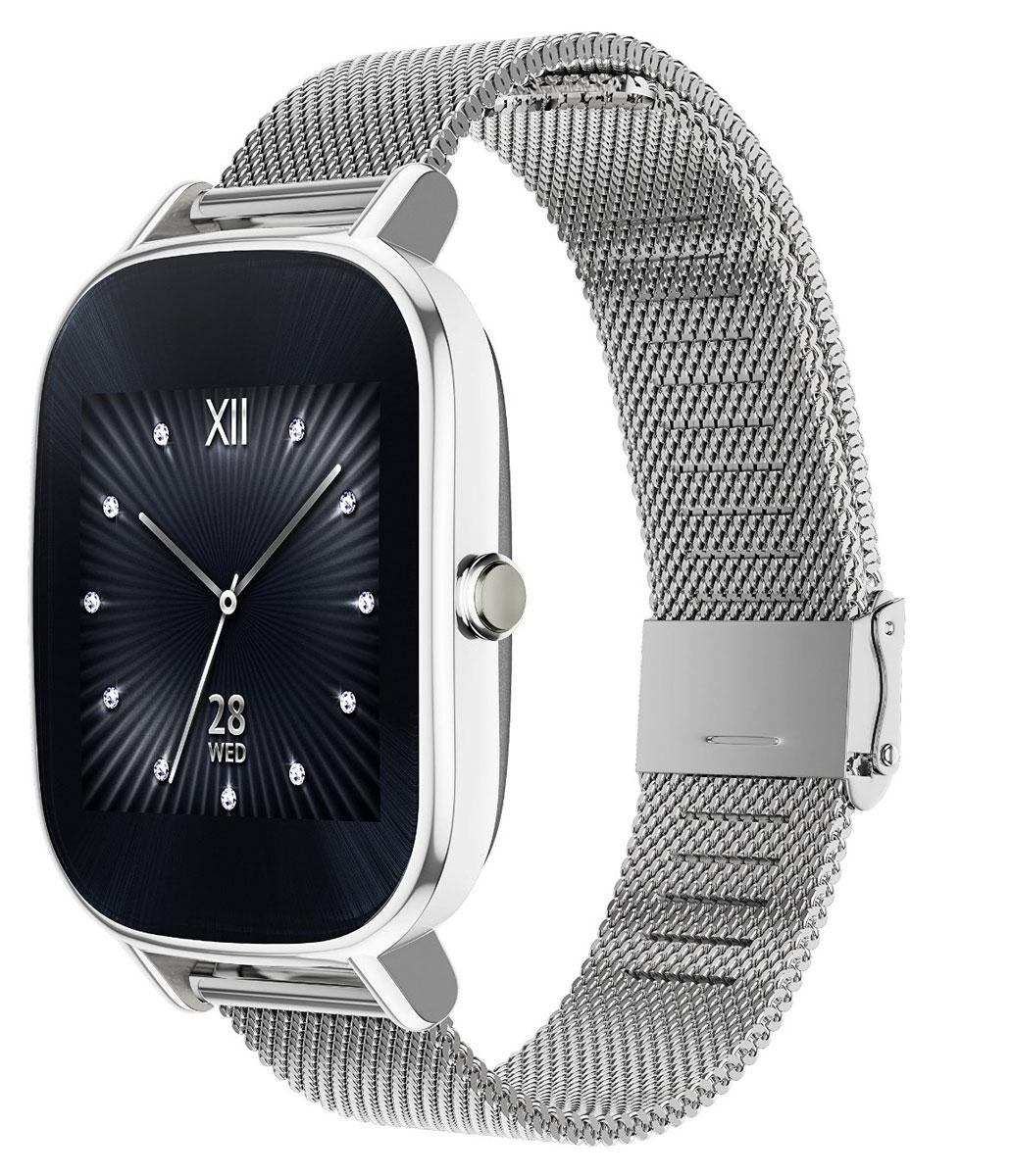 ASUS ZenWatch 2 WI502Q(BQC), Silver смарт-часы4712900359725Asus ZenWatch 2 - традиции и инновации в одном стильном устройстве. ZenWatch 2 - это стильные часы с мощной функциональностью. Корпус часов изготавливается из высококачественной нержавеющей стали. Отражая традиционный дизайн часов, на корпусе ZenWatch 2 имеется металлическая кнопка, которая используется в качестве элемента управления. Помимо 60 стандартных циферблатов можно создавать свои собственные варианты оформления экрана часов с помощью приложения FaceDesigner. С помощью часов ZenWatch 2 можно легко обмениваться короткими текстовыми сообщениями, смайликами и рисунками с друзьями и близкими. Просматривайте важную информацию и реагируйте на нее простым прикосновением к экрану или с помощью голосовой команды. Встроенный в часы шагомер обладает высокой точностью, позволяя пользователю следить за своей физической активностью и прогрессом в достижении фитнес-целей. Также имеется функция мониторинга сна. ...