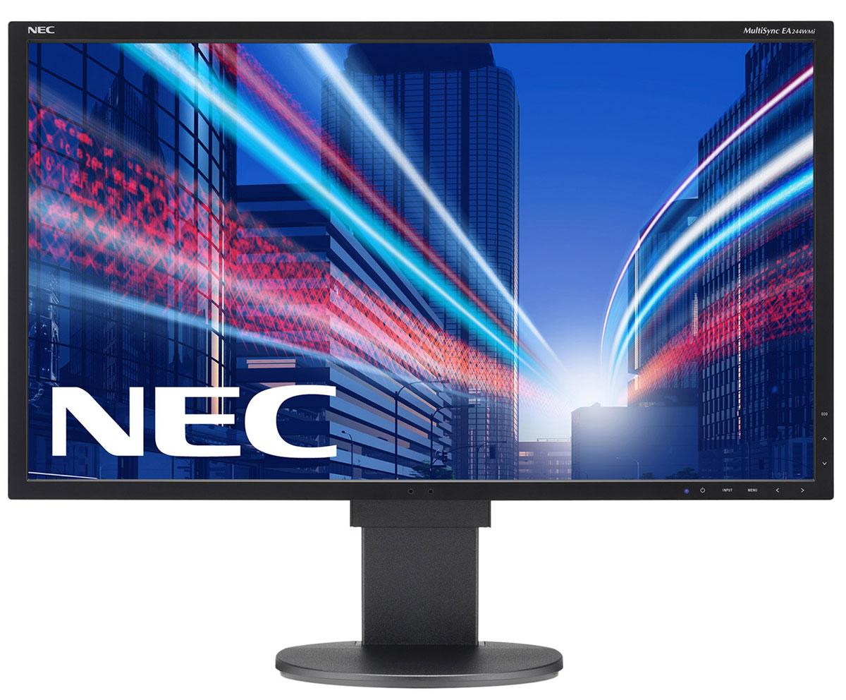 NEC EA244WMi, White мониторEA244WMiМонитор NEC EA244WMi обладает очень тонкой панелью со светодиодной подсветкой и IPS-технологией, что обеспечивает ультрасовременный и ультратонкий дизайн в сочетании с характеристиками, идеальными для корпоративного офисного использования. Датчик рассеянного света и датчик присутствия являются стандартными характеристиками данной модели, кроме того, модель обладает улучшенными эргономическими характеристиками, например, механизмом регулирования высоты до 130 мм. Дисплей также располагает широкими возможностями соединения, 4 входами: DisplayPort, HDMI, DVID и D-Sub. Благодаря превосходному качеству изображения IPS с широким углом обзора в формате экрана 16:10 данная модель обладает высоким уровнем эргономического комфорта. Идеальный набор функциональных возможностей для офисной эксплуатации: встроенные динамики, гнездо для подключения наушников и USB-хаб обеспечивают отличные опции для офисной коммуникации Зеленая концепция продукта: режим работы Eco и измеритель...