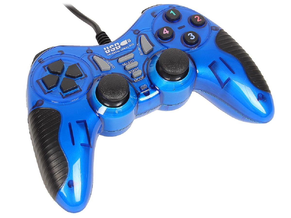 3Cott Single GP-06, Blue геймпад 312653