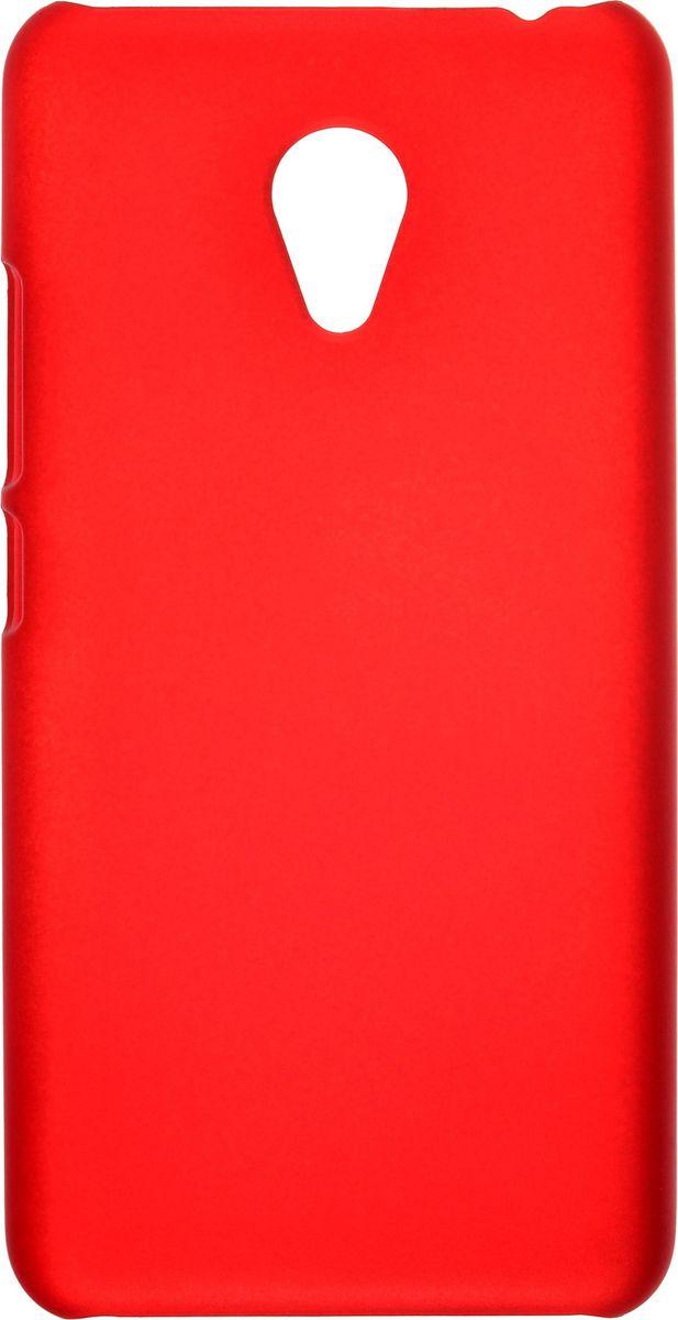Skinbox Shield Case 4People чехол-накладка для Meizu M3 mini, Red2000000092379Чехол Skinbox Shield Case для Meizu M3 mini надежно защитит ваш смартфон от внешних воздействий, грязи, пыли, брызг. Он также поможет при ударах и падениях, не позволив образоваться на корпусе царапинам и потертостям. Чехол обеспечивает свободный доступ ко всем функциональным кнопкам смартфона и камере.