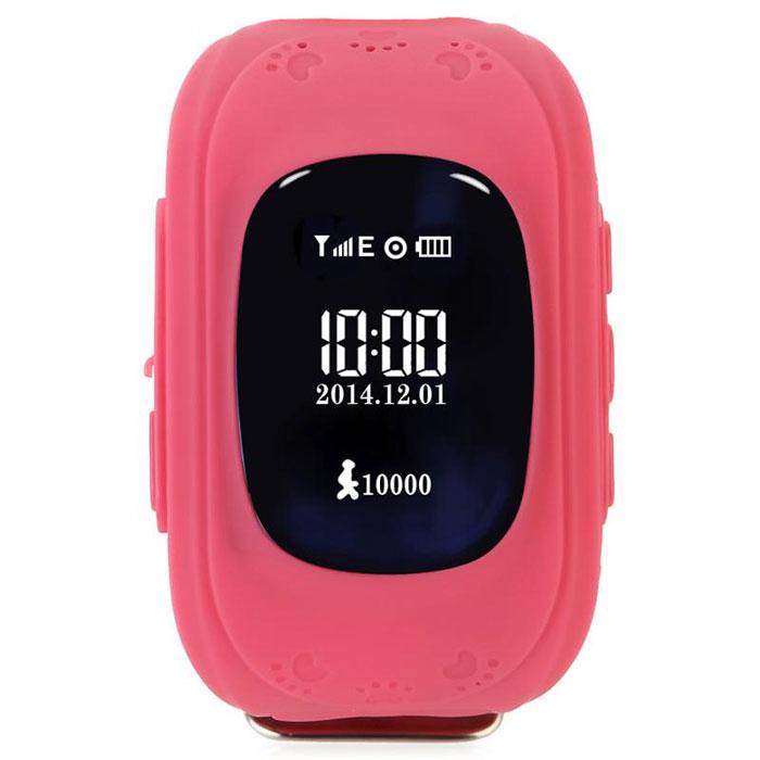 Кнопка жизни К911, Pink часы-телефон с GPS-геолокацией