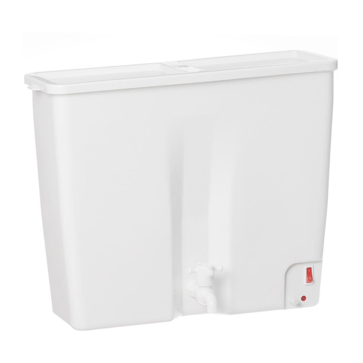 ЭлБЭТ ЭВБО-22, White электроводонагревательЭВБО-22ЭлБЭТ ЭВБО-22 - прекрасный 22 - литровый водонагреватель с ручной регулировкой температуры. Элитные материалы придают модели необыкновенный шарм.