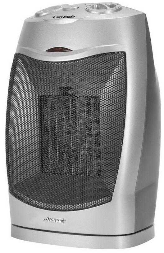 Atlanta ATH-7305 тепловентиляторATH-7305ТепловентиляторATH-7305 служит для быстрого прогрева помещения с наименьшими затратами электроэнергии. Принудительно нагнетая горячий воздух, тепловентилятор заставляет его циркулировать, смешиваясь с холодным, благодаря чему прогрев помещения происходит значительно быстрее, чем в случае обычных обогревателей. Тепловентилятор ATH-7305 может работать в режиме обычного вентилятора, а также нагнетать теплый или горячий воздух. Используя разные режимы работы можно добиться установления в помещении устойчивого и комфортного микроклимата. Материал корпуса - термостойкий пластик абсолютно безвреден и соответствует всем стандартам безопасности. 3 режима работы Режим вентилятора без нагрева, режим теплого потока воздуха и режим горячего потока воздуха.