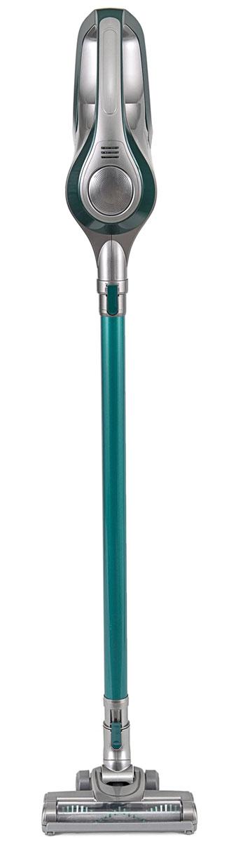 Kitfort КТ-515-3, Grey Green вертикальный пылесосКТ-515-3 серо-зеленыйВертикальный беспроводной аккумуляторный пылесос Kitfort КТ-515-3 хорошо подходит для оперативной уборки, например, рассыпанных крошек или песка от обуви в коридоре. Конструкция 2 в 1 дает возможность использовать ручной пылесос. Ручным пылесосом можно пропылесосить углы и плинтусы, обивку мебели, пыль со шкафов (куда обычным пылесосом очень трудно дотянуться из-за ограниченной длины шланга), шкафчики на кухне или в гостиной, книжные полки, коврики в автомобиле или багажник. Для ручного пылесоса очень важна широкая комплектация. Разнообразные насадки улучшают качество уборки и удобство использования. Вместе с вертикальным беспроводным пылесосом Kitfort КТ-515-3 поставляются как обычные насадки, так целый комплект суперузких насадок, с помощью которых можно извлечь мусор из самых труднодоступных мест. Щели у плинтуса, пространство внутри карниза или радиатора отопления, клавиатура компьютера или ноутбука всегда будут чистыми без лишних усилий. Пылесос...