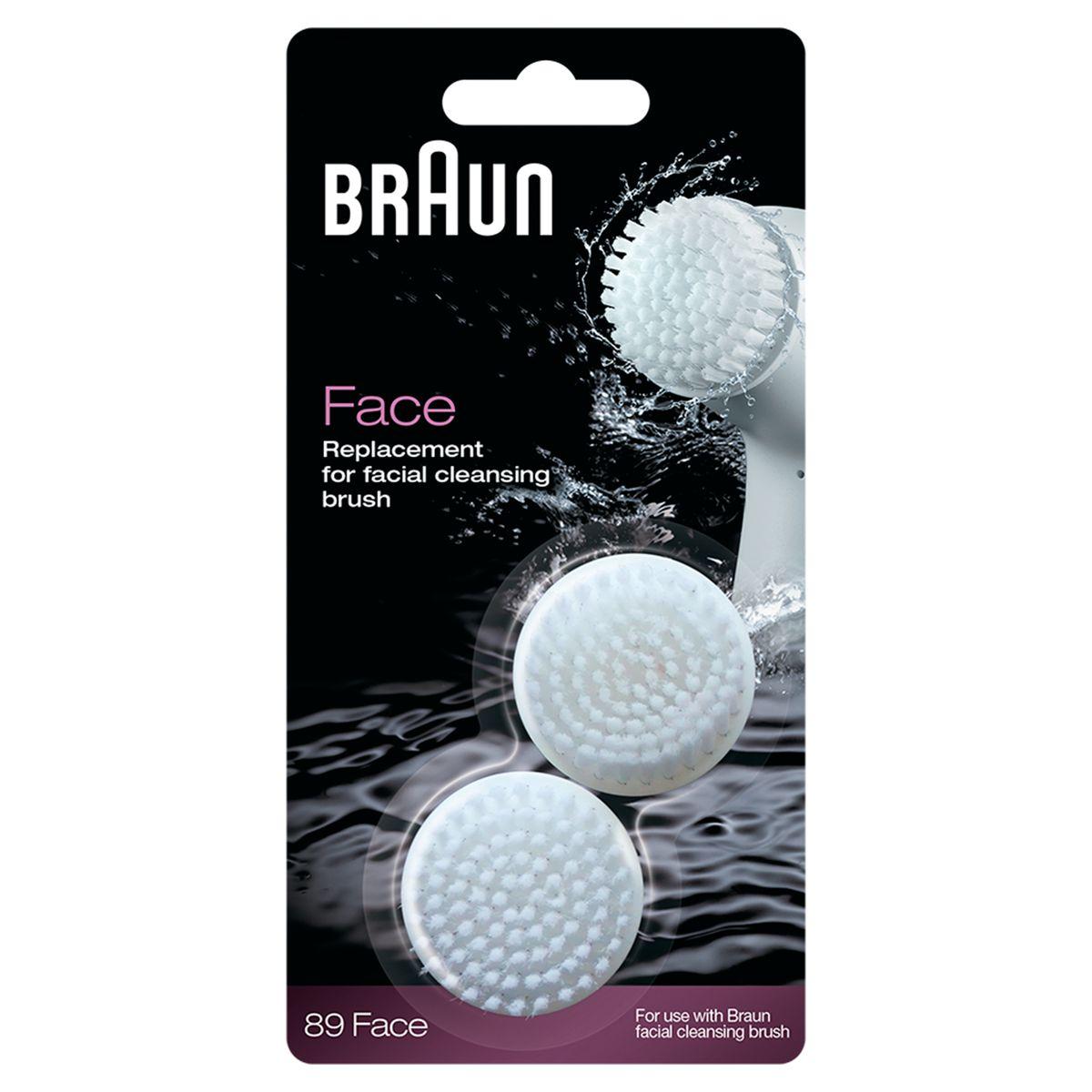 Braun Silk-Epil SE89 комплект для очищения лица81441894Сменная щеточка для очищения лица Braun Silk-Epil SE89 обеспечивает оптимальный уход за лицом. Для достижения наилучших результатов Braun рекомендует менять щеточки каждые 3 месяца. Специальная щеточка удаляет макияж и очищает кожу лица в 6 раз лучше, чем очищение вручную, придавая вашей коже гладкость и свежесть. Глубокое очищение пор — всего за одну минуту удаляет макияж и загрязнения со щек, Т-зоны и подбородка и придает коже свежий вид. Массаж микрощетинками — 60 000 микровибраций в секунду мягко отшелушивают и заметно улучшают состояние кожи.