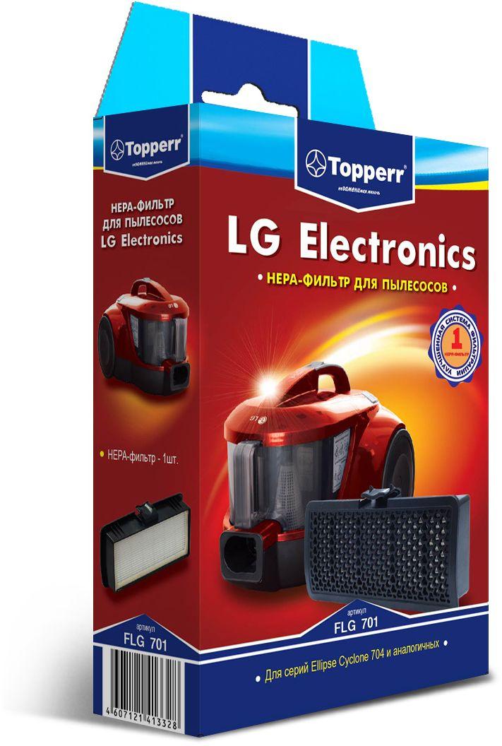Topperr FLG 701 HEPA-фильтр для пылесосов LG Electronics1129HEPA-фильтр Topperr FLG 701 предназначен для пылесосов LG ELECTRONICS. Обладает высочайшей степенью фильтрации, задерживает 99,5 % пыли. Благодаря специальной концентрации и свойствам фильтрующего материала, фильтр улавливает мельчайшие частицы, позволяя очищать воздух от пыльцы, микроорганизмов, бактерий и пылевых клещей. Своевременная замена фильтра обеспечивает правильную работу пылесоса, продлевая срок его эксплуатации.