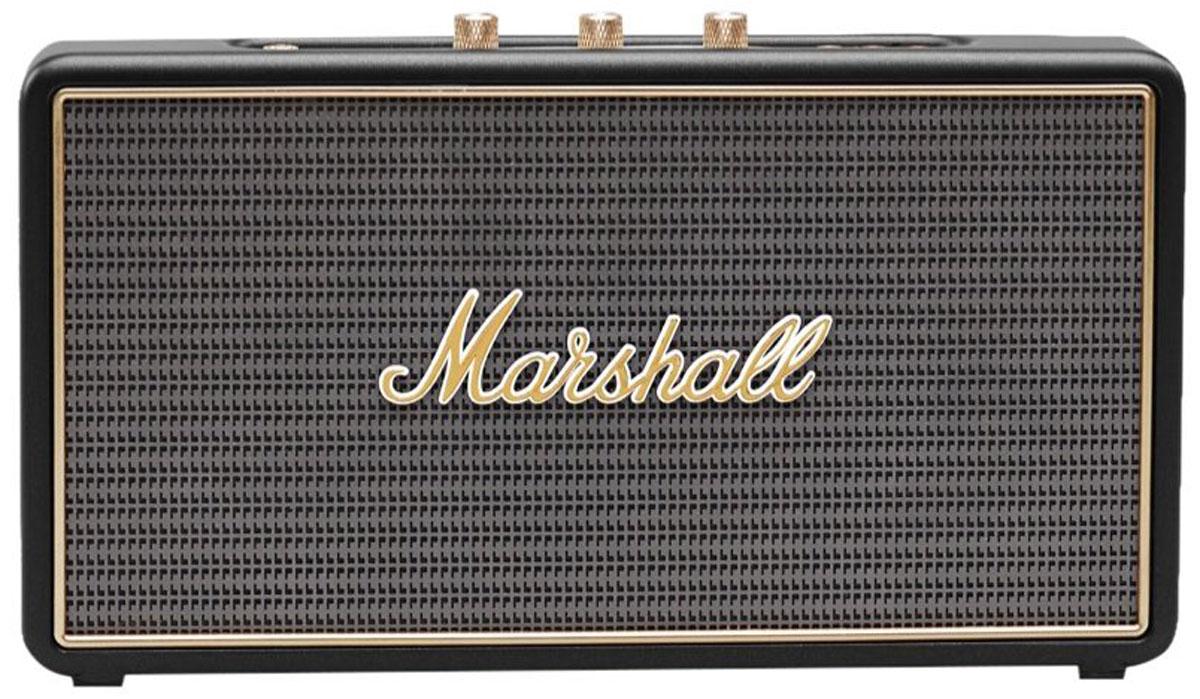 Marshall Stockwell, Black акустическая система7340055319355The Stockwell – это самая компактная колонка в линейке акустики Marshall, как будто специально созданная для путешествий. Миниатюрная, весом всего 1,2 килограмма, она порадует вас своим звучанием: два усилителя D- класса подают идеально чистый звук на два стереодинамика диаметром 2,25. А громкость, басы и высокие частоты легко регулируются с помощью аналоговых переключателей, расположенных на верхней панели колонки. Перезаряжаемый литий-ионный аккумулятор обеспечит до 25 часов прослушивания любимой музыки. При этом вы можете осуществлять подзарядку колонки с помощью удобного USB-порта. Управлять Stockwell можно как напрямую, так и с помощью других устройств, подключаемых через Bluetooth или USB-порт, например, смартфона. И конечно же традиционное исполнение в стиле олдскульных гитарных усилителей: аналоговые переключатели и ручки регулировок золотого цвета, металлическая решетка на динамиках с легендарным логотипом Marshall на ней и идеальные формы...