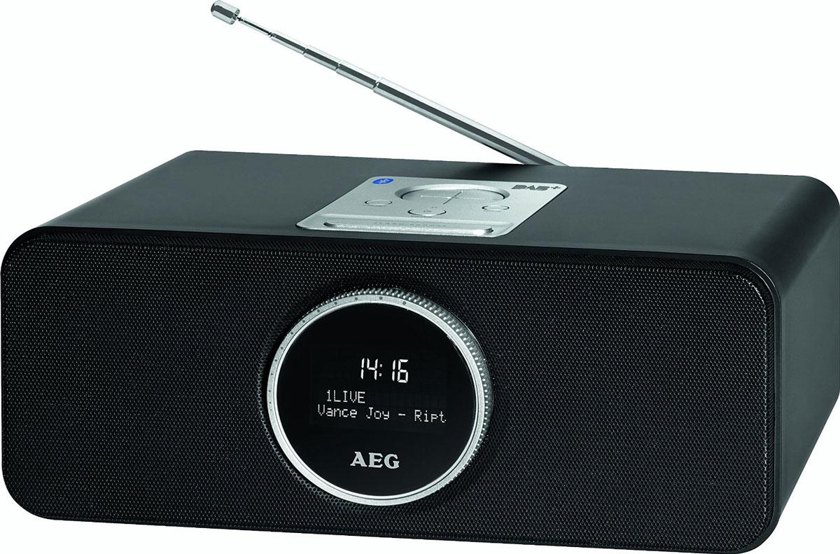AEG SR 4372 DAB+, Black радиоприемник SR 4372 schwarz DAB+