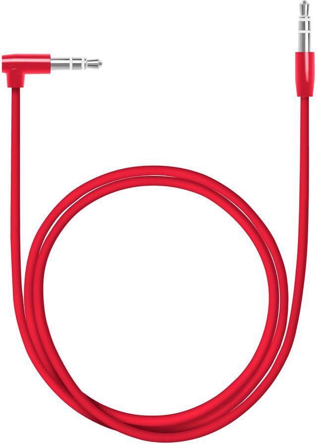 Deppa Aux Slim, Red аудиокабель (1,2 м)72197Аудиокабель Deppa Aux Slim, Green предназначен для подключения вашего аудиоустройства к звуковоспроизводящему оборудованию, оснащенному входом AUX.