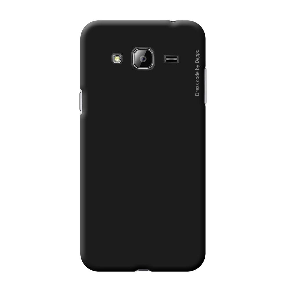 Deppa Air Case чехол для Samsung Galaxy J3 (2016), Black83247Чехол Deppa Air Case для Samsung Galaxy J3 (2016) случай редкого сочетания яркости и чувства меры. Это стильная и элегантная деталь вашего образа, которая всегда обращает на себя внимание среди множества вещей. Благодаря покрытию soft touch чехол невероятно приятен на ощупь, поэтому смартфон не хочется выпускать из рук. Ультратонкий чехол (1 мм) повторяет контуры самого девайса, при этом готов принимать на себя удары - последствия непрерывного ритма городской жизни. Чехлы Deppa Air Case изготавливаются из высококачественного поликарбоната (PC) производства Вауеr, устойчивого к сколам, ударам и царапинам. Прочная поверхность чехла с покрытием soft touch обладает противоскользящим эффектом. Все функциональные отверстия чехла идеально подогнаны по размерам и местоположению, обеспечивая полный доступ к внешним портам, слотам и разъемам гаджета.