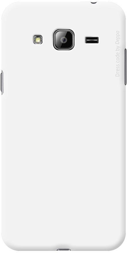 Deppa Air Case чехол для Samsung Galaxy J3 (2016), White83248Чехол Deppa Air Case для Samsung Galaxy J3 (2016) случай редкого сочетания яркости и чувства меры. Это стильная и элегантная деталь вашего образа, которая всегда обращает на себя внимание среди множества вещей. Благодаря покрытию soft touch чехол невероятно приятен на ощупь, поэтому смартфон не хочется выпускать из рук. Ультратонкий чехол (1 мм) повторяет контуры самого девайса, при этом готов принимать на себя удары - последствия непрерывного ритма городской жизни. Чехлы Deppa Air Case изготавливаются из высококачественного поликарбоната (PC) производства Вауеr, устойчивого к сколам, ударам и царапинам. Прочная поверхность чехла с покрытием soft touch обладает противоскользящим эффектом. Все функциональные отверстия чехла идеально подогнаны по размерам и местоположению, обеспечивая полный доступ к внешним портам, слотам и разъемам гаджета.