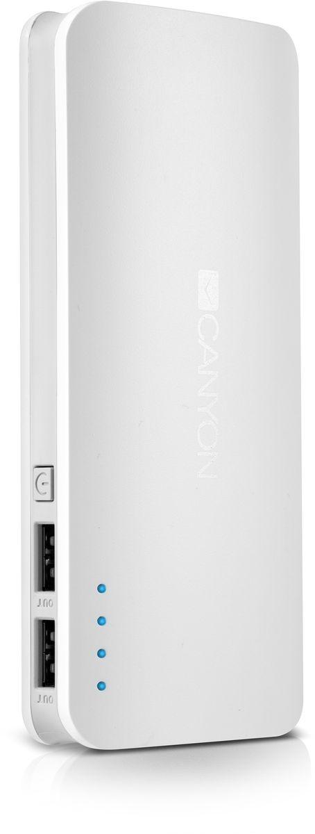 Canyon CNE-CPB130W, White внешний аккумулятор (13000 мАч)