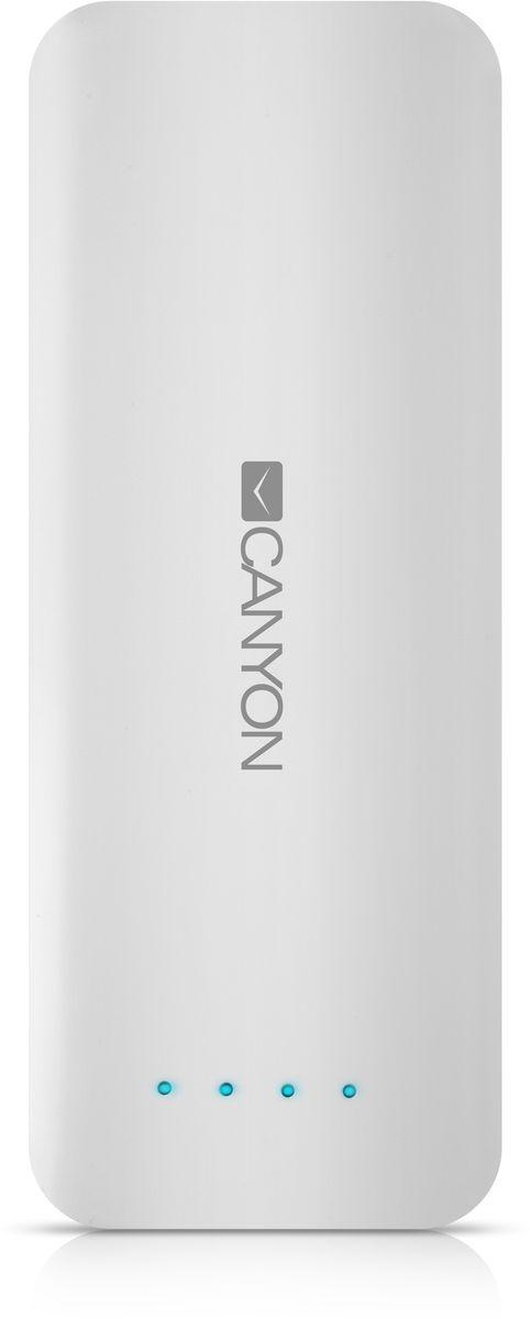 Canyon CNE-CPB156W, White внешний аккумулятор (15600 мАч)