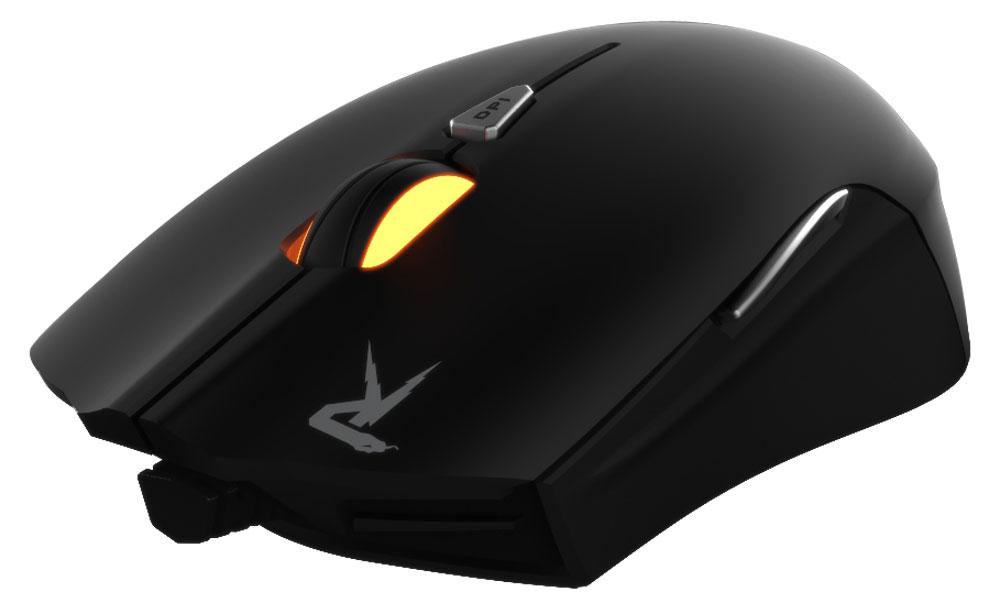 Gamdias Ourea FPS, Black игровая мышьGMS5501Игровая мышь Gamdias Ourea FPS обладает симметричным корпусом, настраиваемой подсветкой и регулировкой веса. Стильная и эргономичная мышь отлично подойдет игрокам с любым типом хвата. Настраиваемая LED-подсветка: Настройка четырехцветной (красный, оранжевый, зеленый, синий) подсветки в зависимости от предпочтений пользователя. 64 КБ встроенной памяти: Сохранение до 6 профилей пользовательских настроек во внутреннюю память устройства. Частота опроса до 1000 Гц: Настраиваемая пользователем частота опроса 125 / 250 / 500 / 1000 Гц. 8 000 000 кликов: Жизненный цикл мыши - минимум 8 000 000 кликов при интенсивном использовании. Система регулировки веса: Изменение общего веса мыши с помощью четырех грузиков весом по 5 грамм для повышения удобства управляемости. Оптический сенсор 4000 dpi: Оптический сенсор с разрешением 4000 dpi, которое можно менять на лету, гарантирует...