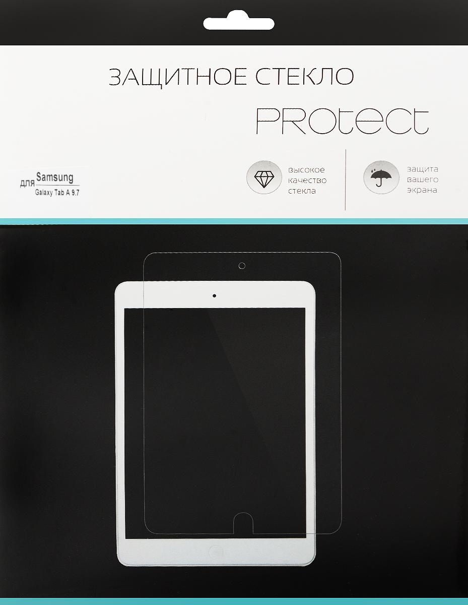 LuxCase Protect защитное стекло для Samsung Galaxy Tab A 9.7, суперпрозрачное40038Защитное стекло LuxCase Protect для Samsung Galaxy Tab A 9.7 обеспечивает надежную защиту сенсорного экрана устройства от большинства механических повреждений и сохраняет первоначальный вид дисплея, его цветопередачу и управляемость. В случае падения стекло амортизирует удар, позволяя сохранить экран целым и избежать дорогостоящего ремонта. Стекло обладает особой структурой, которая держится на экране без клея и сохраняет его чистым после удаления.