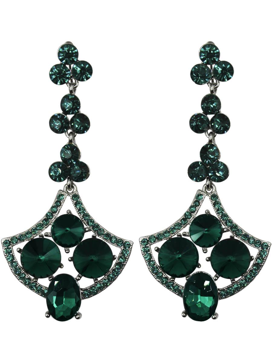 Серьги Taya, цвет: серебро, зеленый. T-B-11213-EARR-SL.EMERALDT-B-11213-EARR-SL.EMERALDСерьги с английским замком изготовлены из гипоаллергенного бижутерного сплава. Заметные длинные серьги оформлены в виде якоря. Дополнены сверкающими стразами и выкладкой из камней.