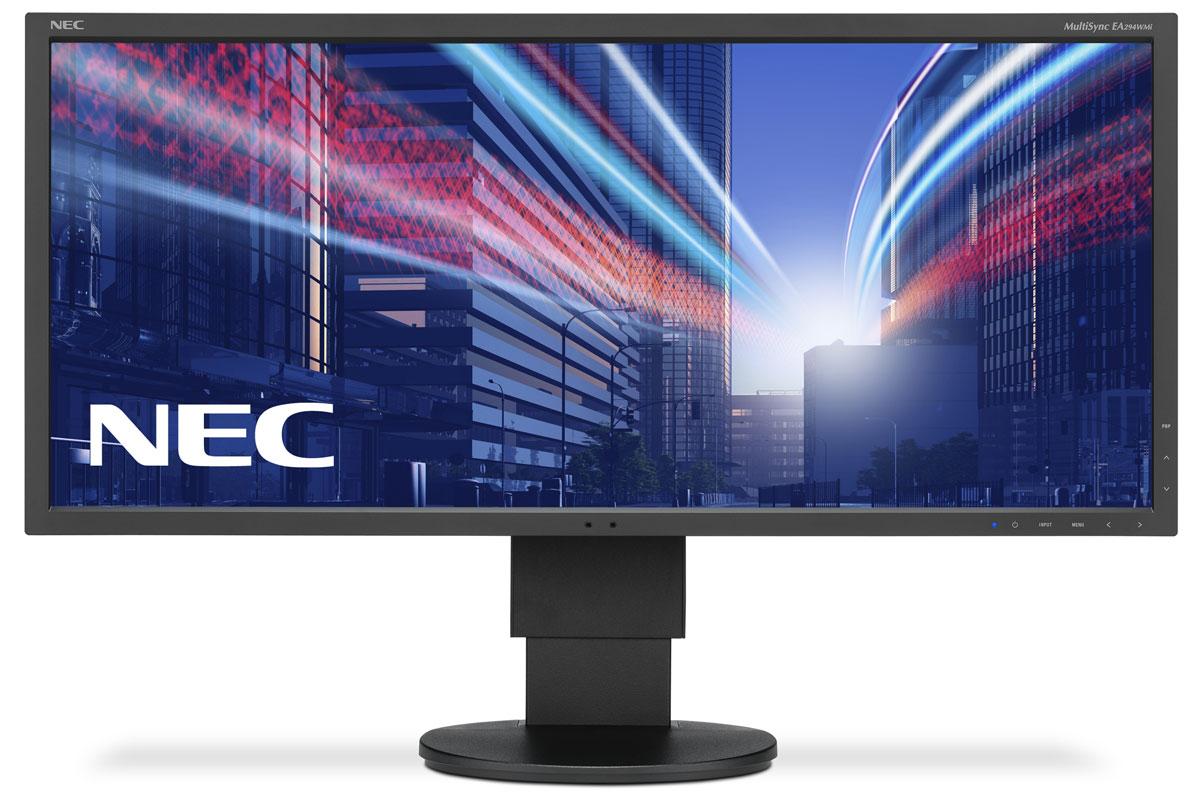 NEC EA294WMi-BK, Black монитор60003417Модель NEC EA294WMi обладает очень тонкой 29-дюймовой панелью 21:9 с разрешением 2560x1080, а также со светодиодной подсветкой и IPS-технологией, что обеспечивает ультрасовременный и ультратонкий дизайн. Благодаря новому формату, соответствующему экранной установке из двух обычных 19-дюймовых экранов, данная модель является отличной альтернативой для любых многоэкранных установок. Датчик внешней освещенности и датчик присутствия являются характеристиками, соответствующими экологичной концепции продукции, кроме того, данная модель обладает улучшенными эргономическими характеристиками, например, механизмом регулирования высоты до 130 мм. Новая характеристика Control Sync обеспечивает синхронизацию мультимониторной настройки, а стандарт MHL (Mobile High Definition Link) предоставляет прямую связь монитора с вашим смартфоном. Эргономичный офис – регулировка по высоте (130 мм), возможность поворота, наклона и вращения обеспечивает удобную установку с учетом...