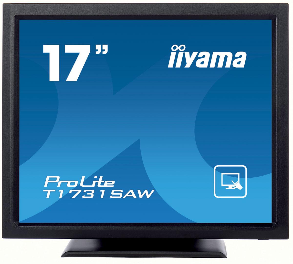 iiyama T1731SAW-B1A, Black мониторT1731SAW-B1AМонитор Iiyama T1731SAW-B1A использует высокоточную поверхностную сенсорную акустическую технологию Surface Acoustic Wave Touch Technology (SAW), что позволило выполнить его экран из стеклянной, устойчивой к царапинам панели, обеспечивающей великолепное качество изображения и высокую износостойкость. Экран распознает нажатия мягким стилусом, пальцем или рукой в перчатке, что делает его пригодным для широкого круга применений. Прочный конструктив и надежная, но гибкая подставка, обеспечивают его устойчивость в наиболее неблагоприятных условиях эксплуатации. Для очистки поверхности экрана, предусмотрена функция отключения сенсорной панели. Дисплей Iiyama T1731SAW-B1A является идеальным выбором для использования в торговых точках, электронных киосках, гостиницах, развлекательных заведениях, диспетчерских, образовательных и тренинговых организациях, а также во многих других типах учреждений. Сенсорный экран на поверхностно-акустических волнах использует...