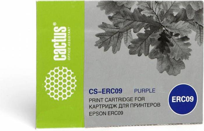 Cactus CS-ERC09, Magenta картридж ленточный для Epson ERC09CS-ERC09Картридж ленточный Cactus CS-ERC09 для матричных принтеров Epson ERC09.Расходные материалы Cactus для печати максимизируют характеристики принтера. Они обеспечивают повышенную четкость изображения и надежное качество печати.