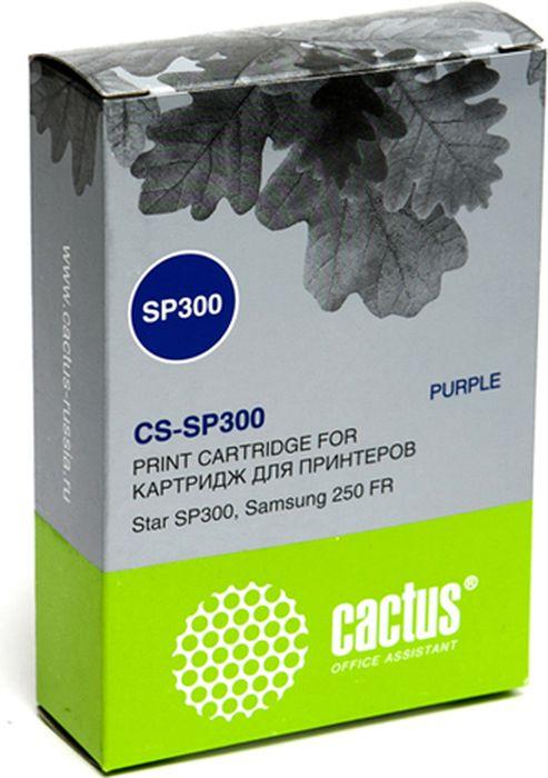 Cactus CS-SP300, Purple картридж ленточный для Samsung 250 FR/Star SP300