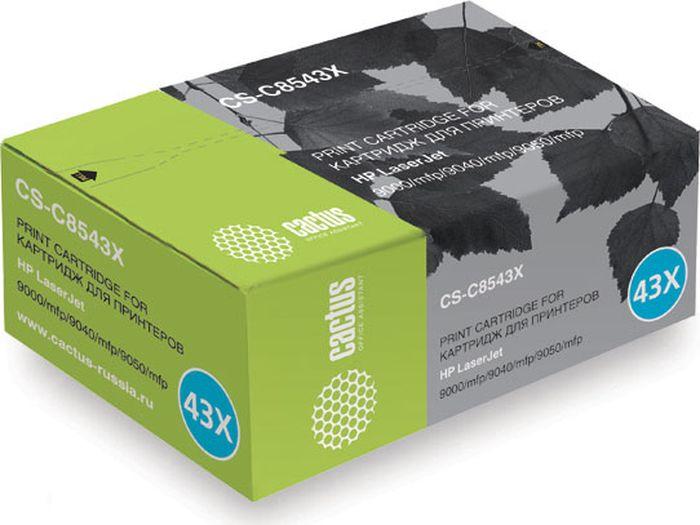 Cactus CS-C8543X, Black тонер-картридж для HP LJ 9000/9040/9050CS-C8543XТонер-картридж Cactus CS-C8543X для лазерных принтеров HP LJ 9000/9040/9050. Расходные материалы Cactus для лазерной печати максимизируют характеристики принтера. Обеспечивают повышенную чёткость чёрного текста и плавность переходов оттенков серого цвета и полутонов, позволяют отображать мельчайшие детали изображения. Гарантируют надежное качество печати.