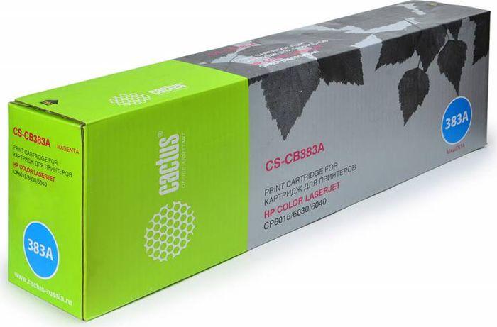 Cactus CS-CB383A, Magenta тонер-картридж для HP CLJ CM6030/CM6040/CP6015CS-CB383AТонер-картридж Cactus CS-CB383A для лазерных принтеров HP CLJ CP6015X/6015XH/6015DE.Расходные материалы Cactus для лазерной печати максимизируют характеристики принтера. Обеспечивают повышенную чёткость чёрного текста и плавность переходов оттенков серого цвета и полутонов, позволяют отображать мельчайшие детали изображения. Гарантируют надежное качество печати.