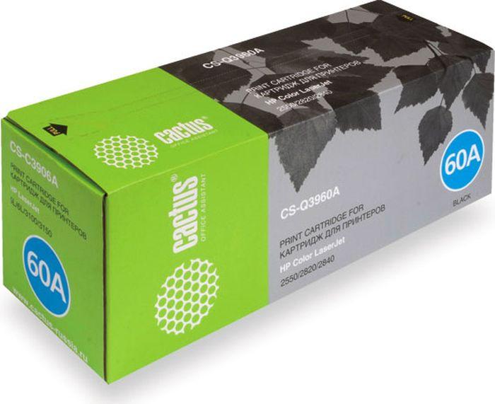 Cactus CS-Q3960A, Black тонер-картридж для HP LJ 2550/2550L/2550LN/2550NCS-Q3960AТонер-картридж Cactus CS-Q3960A для лазерных принтеров HP LJ 2550/2550L/2550LN/2550N. Расходные материалы Cactus для лазерной печати максимизируют характеристики принтера. Обеспечивают повышенную чёткость чёрного текста и плавность переходов оттенков серого цвета и полутонов, позволяют отображать мельчайшие детали изображения. Гарантируют надежное качество печати.