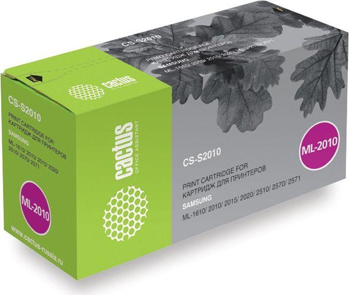 Cactus CS-S2010, Black тонер-картридж для Samsung ML-1610/2010/2015/2020/2510/2570/2571CS-S2010Тонер-картридж Cactus CS-S2010 для лазерных принтеров Samsung ML-1610/2010/2015/2020/2510/2570/2571.Расходные материалы Cactus для лазерной печати максимизируют характеристики принтера. Обеспечивают повышенную чёткость чёрного текста и плавность переходов оттенков серого цвета и полутонов, позволяют отображать мельчайшие детали изображения. Гарантируют надежное качество печати.
