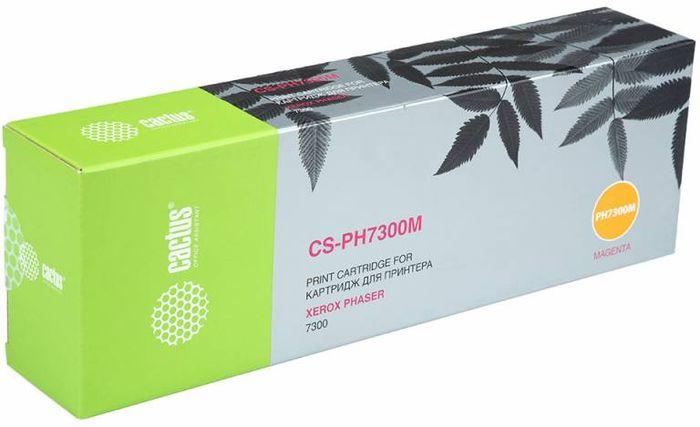 Cactus CS-PH7300M 16197800, Magenta тонер-картридж для Xerox Phaser 7300CS-PH7300MТонер-картридж Cactus CS-PH7300M 16197800 для лазерных принтеров Xerox Phaser 7300. Расходные материалы Cactus для лазерной печати максимизируют характеристики принтера. Обеспечивают повышенную чёткость чёрного текста и плавность переходов оттенков серого цвета и полутонов, позволяют отображать мельчайшие детали изображения. Гарантируют надежное качество печати.