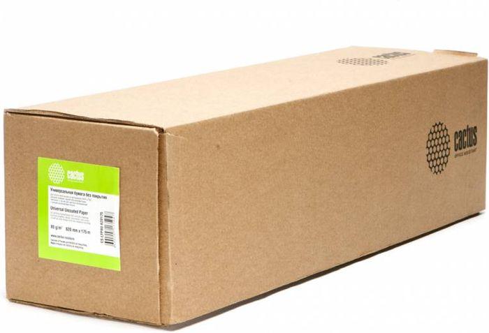 Cactus CS-LFP80-620175 A1+/620мм/80г/м2 инженерная бумага для широкоформатной печати (175 м)CS-LFP80-620175Инженерная бумага без покрытия Cactus CS-LFP80-620175 для широкоформатной печати.Ширина рулона: 620 ммДлина рулона: 175 мДиаметр втулки: 76.2 мм (3)