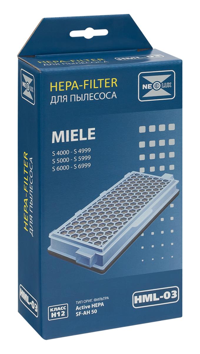 Neolux HML-03 HEPA-фильтр для пылесоса MieleHML-03HEPA фильтр Neolux HML-03 предназначен для пылесосов Miele. Отфильтровывает неприятные запахи благодаря специальному слою активированного угля, задерживает частицы, на которые реагируют аллергики.
