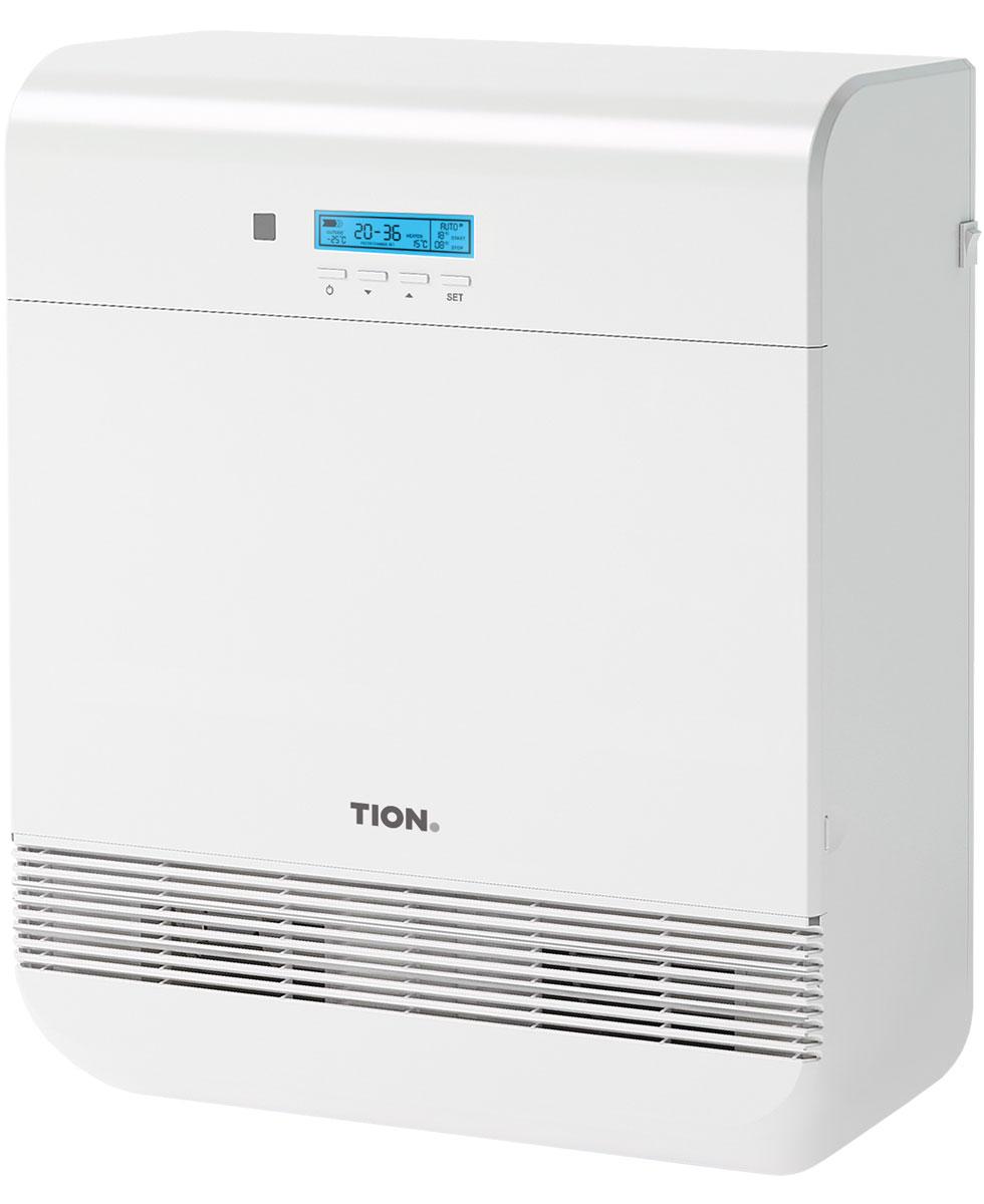 Tion O2 Mac бризерTion O2 MACTion O2 Mac - компактная вентиляция для дома и офиса, которая не требует прокладки воздуховодов в помещении. Имеет функцию глубокой многоступенчатой очистки и подогрева воздуха с климат-контролем. Бризер рассчитан на условия стандартного современного города: с наличием источников загрязнения воздуха (автодороги, промышленные предприятия) и зимними температурами ниже 0°С. Оптимальное решение для жителей городов. Отличие версии Mac заключатся в поддержке продвинутой системы управления климатической техники Tion MagicAir, которая поможет сделать идеальным микроклимат вашего дома (продается отдельно). Диапазон уличных температур: от -40…+50°C Автоматическая заслонка Класс защиты: IP34 Максимум нагрева приточного воздуха: +25°С Функция отключения нагрева Автоматическое поддержание заданной температуры нагрева воздуха