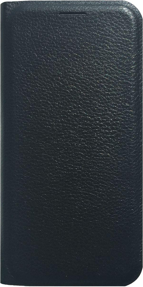 Acqua Wallet Extra чехол для Samsung Galaxy S7, Black53840Чехол-книжка Acqua Wallet Extra для Samsung Galaxy S7 создан из высококачественных материалов. На внутренней стороне чехла имеется карман для пластиковых карт. Чехол надежно защитит ваш телефон от царапин, сколов и незначительных механических повреждений. Он также обеспечивает свободный доступ ко всем функциональным кнопкам смартфона и камере.