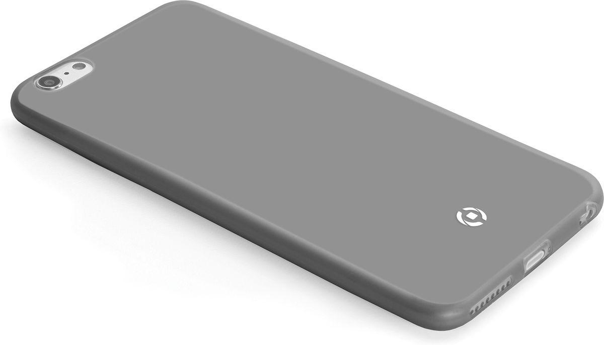 Celly Frost чехол для Apple iPhone 5/5S/SE, GreyFROSTIPH5BKМаксимальная защита с минимальной толщиной. Мягкий и тонкий чехол Celly Frost для Apple iPhone 5/5S/SE идеально защитит смартфон от ударов, падений и царапин. Благодаря толщине 0,3 мм он практически не увеличивает размер вашего телефона.