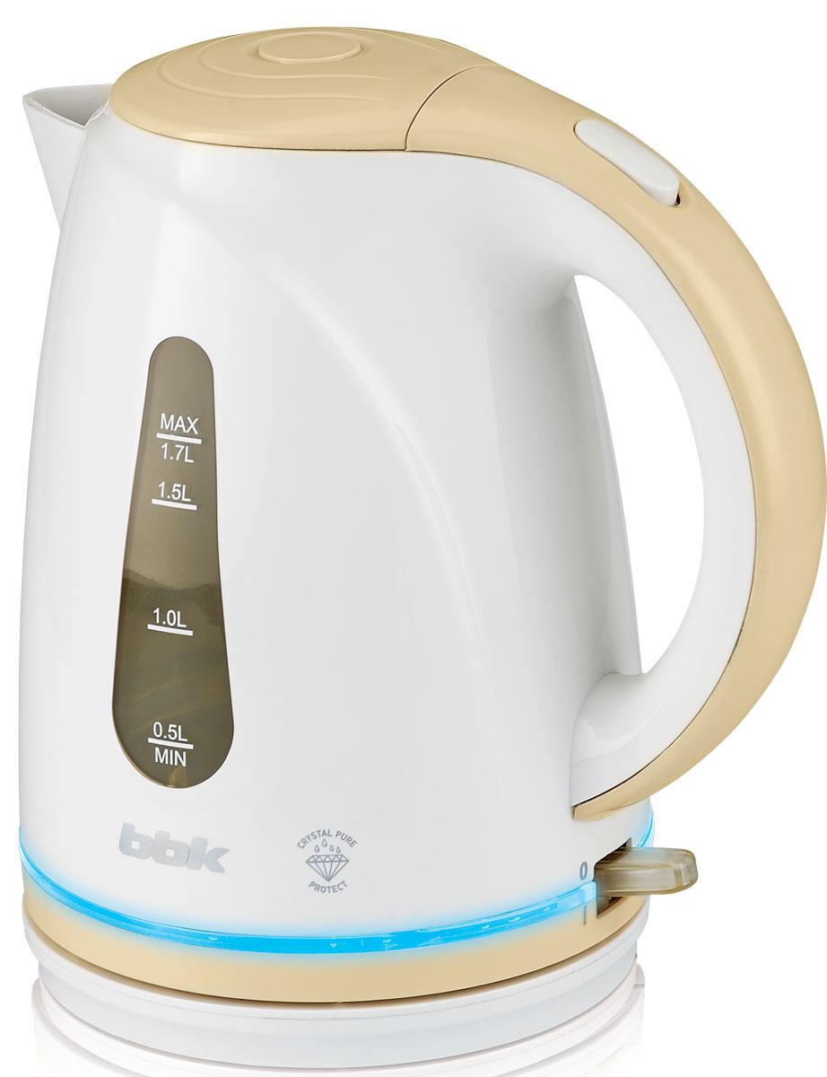 BBK EK1701P, White Biege электрический чайник