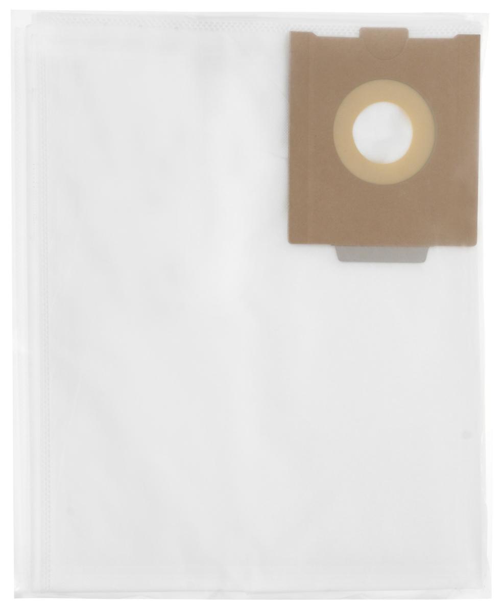 Filtero FST 30 Pro комплект пылесборников для промышленных пылесосов, 5 штFST 30 (5) PrМешки для промышленных пылесосов Filtero FST 30 Pro, трехслойные, произведены из синтетического микроволокна MicroFib. Прочность синтетических мешков Filtero FST 30 Pro превосходит любые бумажные мешки-аналоги, даже если это оригинальные бумажные мешки всемирно известных марок. Вы можете быть уверены: заклепки, гвозди, шурупы, битое стекло, острые камни и прочее не смогут прорвать мешки Filtero Pro. Мешки Filtero Pro не боятся влаги, и даже вода, попавшая в мешок, не помешает вам произвести качественную уборку! Мешки Filtero Pro предназначены для уборки пыли класса М. Подходят для следующих моделей пылесосов: FESTOOL: CTH 26 CTM 26 CTL 26 CTH 36 CTM 36 CTL 36