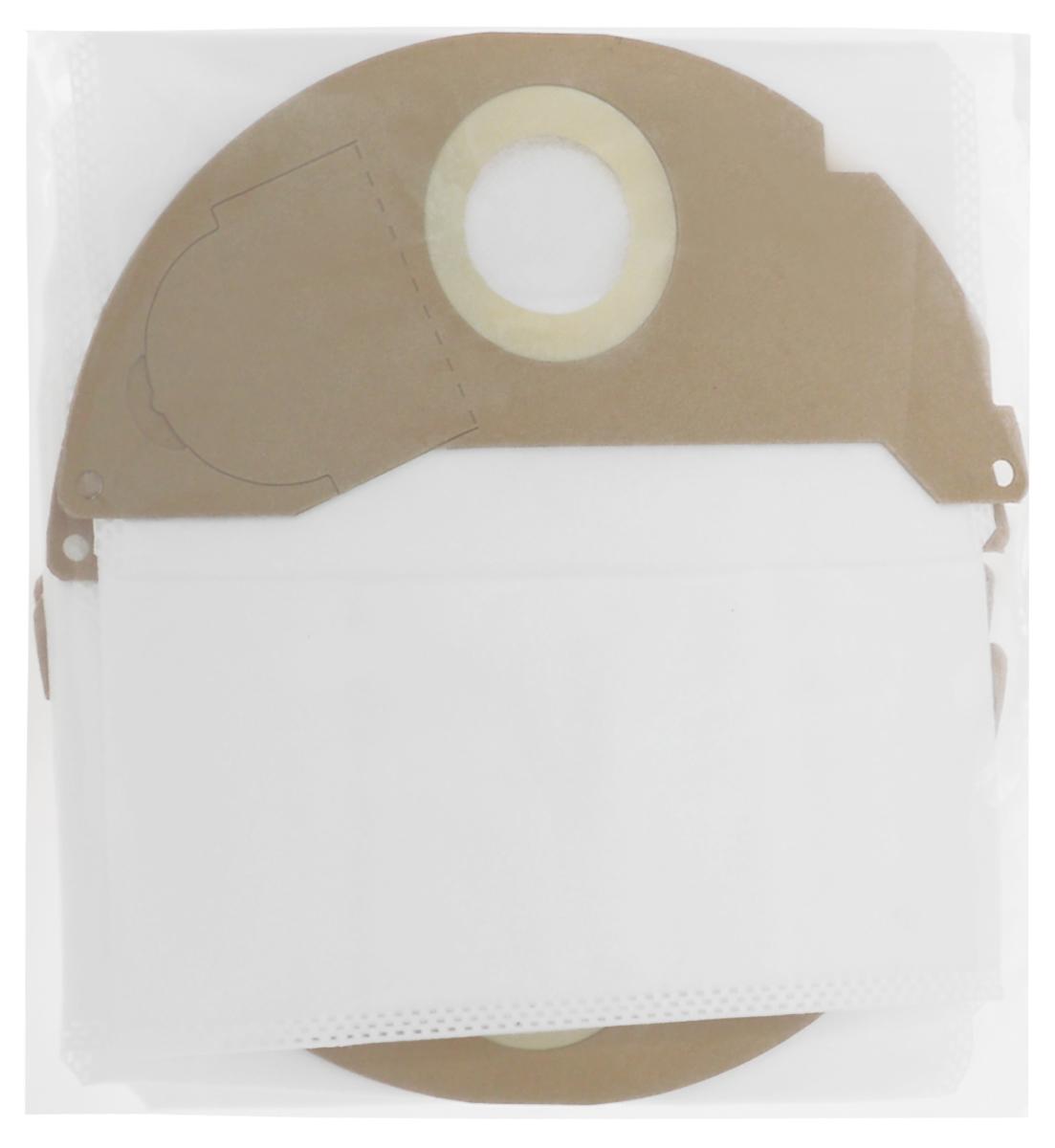 Filtero KAR 05 Pro комплект пылесборников для промышленных пылесосов, 4 штKAR 05 (4) ProМешки для промышленных пылесосов Filtero KAR 05 Pro, трехслойные, произведены из синтетического микроволокна MicroFib. Прочность синтетических мешков Filtero KAR 05 Pro превосходит любые бумажные мешки-аналоги, даже если это оригинальные бумажные мешки всемирно известных марок. Вы можете быть уверены: заклепки, гвозди, шурупы, битое стекло, острые камни и прочее не смогут прорвать мешки Filtero Pro. Мешки Filtero Pro не боятся влаги, и даже вода, попавшая в мешок, не помешает вам произвести качественную уборку! Мешки Filtero Pro предназначены для уборки пыли класса М. Подходят для следующих моделей пылесосов: KARCHER A 2000 - A 2099 серия например A 2004 A 2054 MV 2 WD 2.000 - WD 2.399 серия например WD 2.200